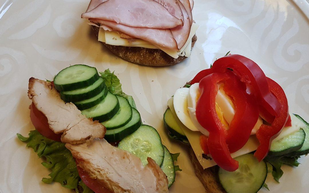 Voileipä, kaloreita vai terveellistä ravintoa?