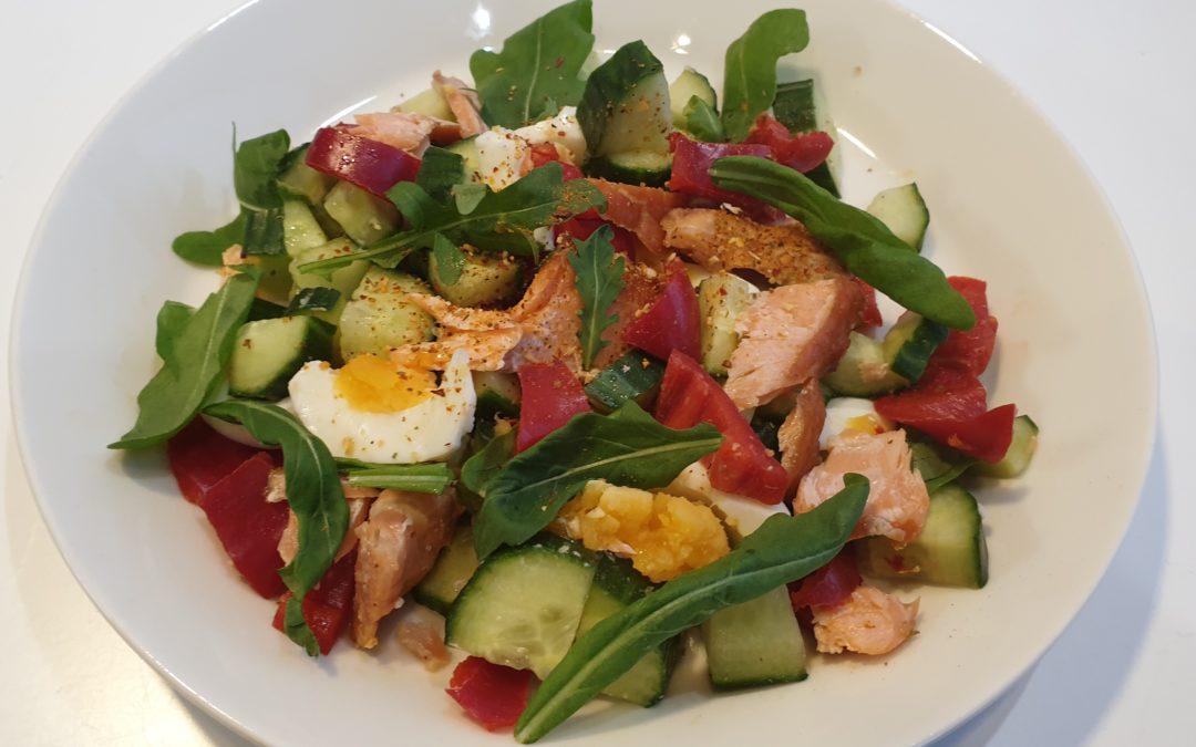 Salaatti, kevyemmin vai vähän tuhdimmin
