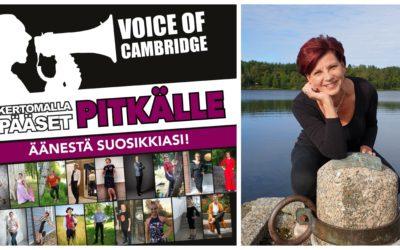 Sari ja Voice of Cambridge kisa